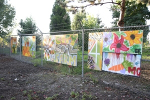 RAYS and City Soil,  an artful partnership.
