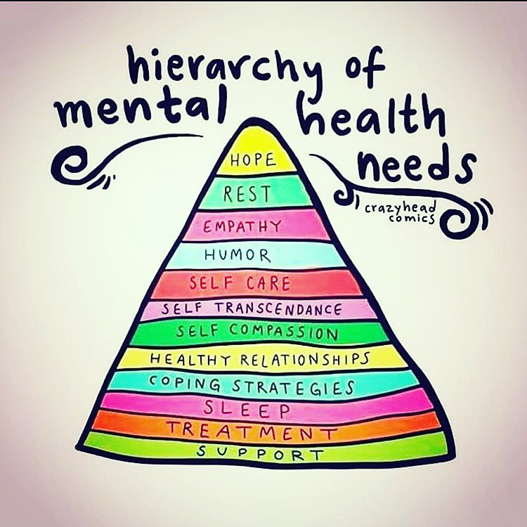 hierarchy of mental health needs